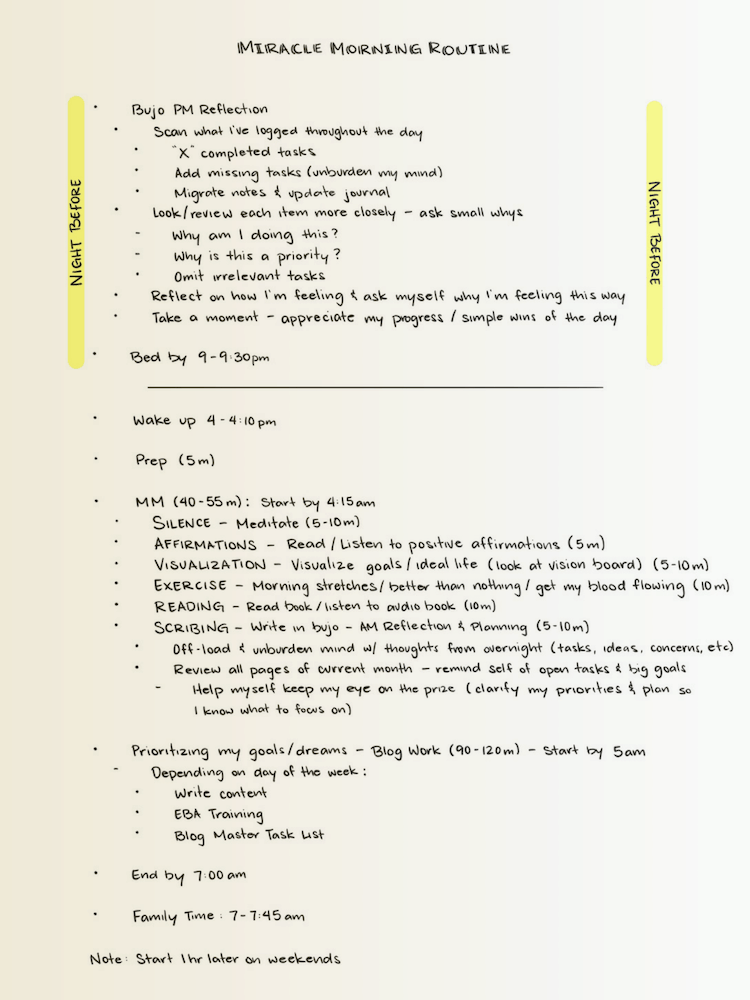 30-Day-Miracle-Morning-Challenge-BuJo-Routine